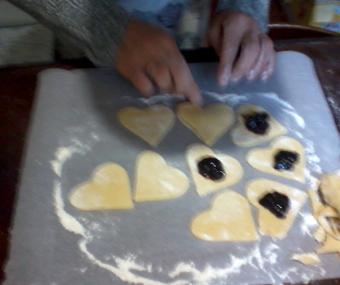 biscotti fatti in casa ripieni