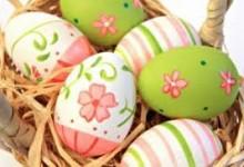 Uova decorate!