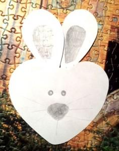 lavoretti di pasqua coniglio