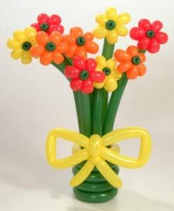fiori palloncini mmultipli